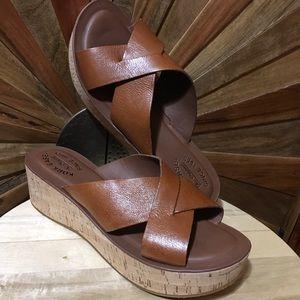 1c1344493c72 Kork-Ease The Original🌟 NWOT☀ Leather Slide